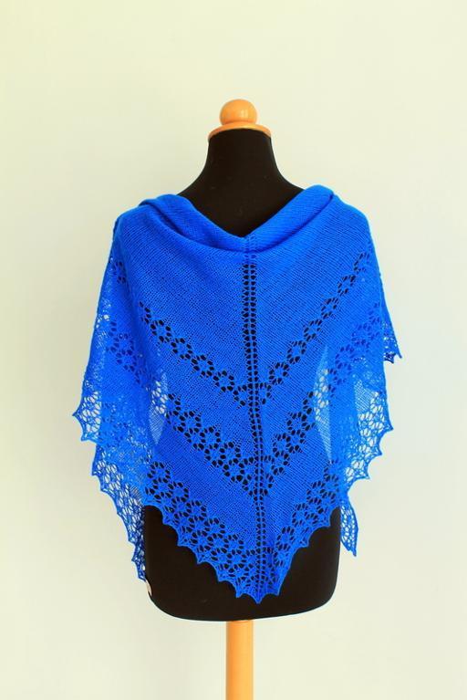 Free Knitting Pattern | June Bunnies Shawl