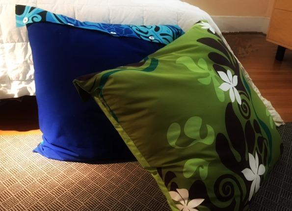 DIY Floor Pillow Cover