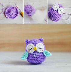 DIY Crochet Amigurami Owl