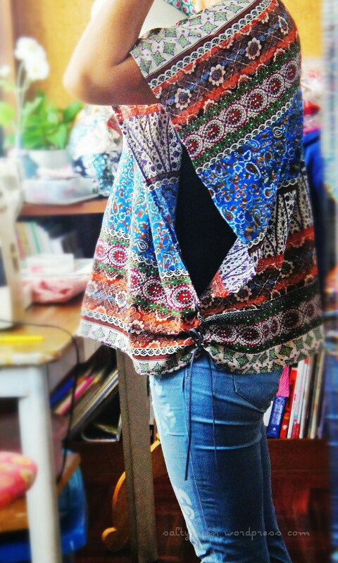 DIY How to sew a poncho