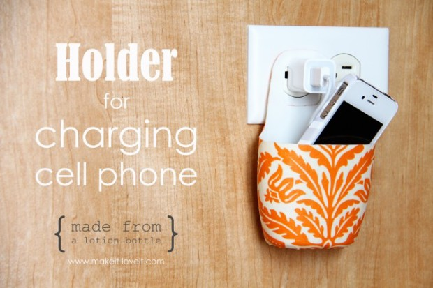Holder for Charging Cell Phone