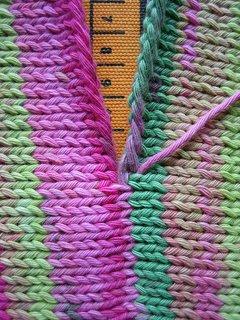 Knitting Invisible Seaming