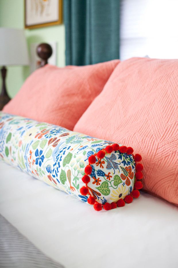DIY Sewing a Bolster Pillow