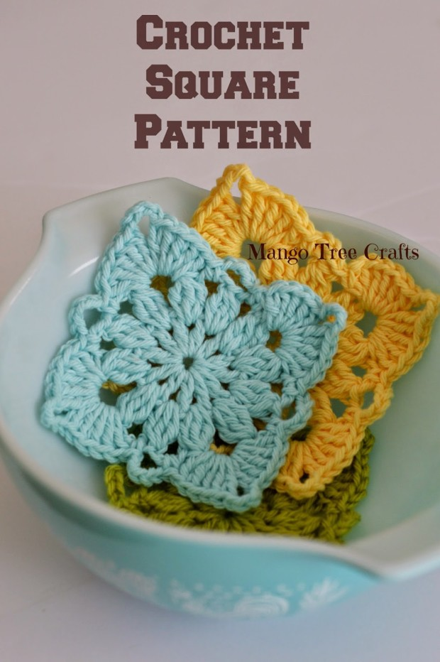 crochet tutorial | crochet motif pattern