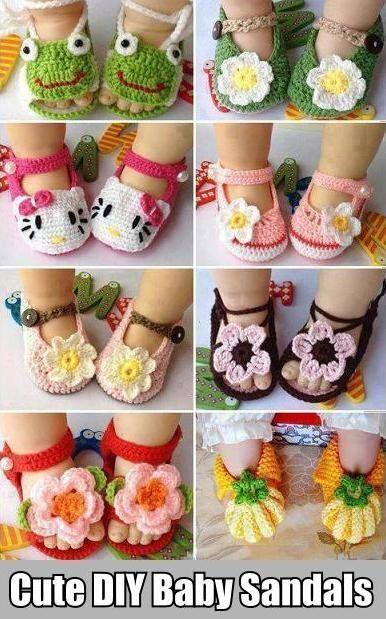 cute baby sandal ideas