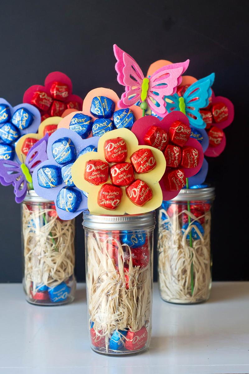 DIY Gift for Teacher Appreciation Day | Chocolate Daisy Bouquet ...