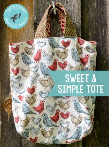 DIY Easy to Make Simple Tote