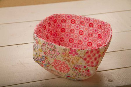 DIY Paper Pieced Spring Basket