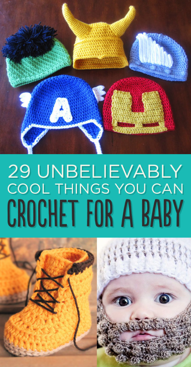 DIY 29 Cool Things You Can Crochet for a Baby