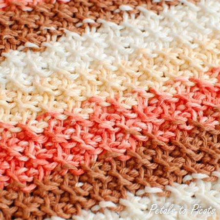 Free Tunisian Crochet Stitch Pattern