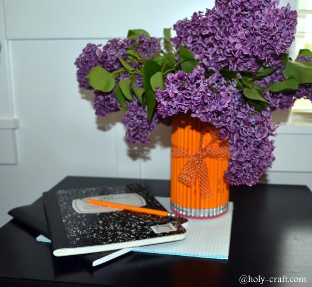 DIY Teacher's Day Gift Idea  Pencil Vase