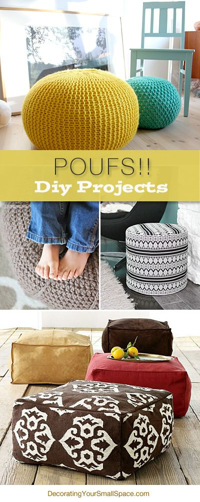 10 DIY Projects to Try | Poufs