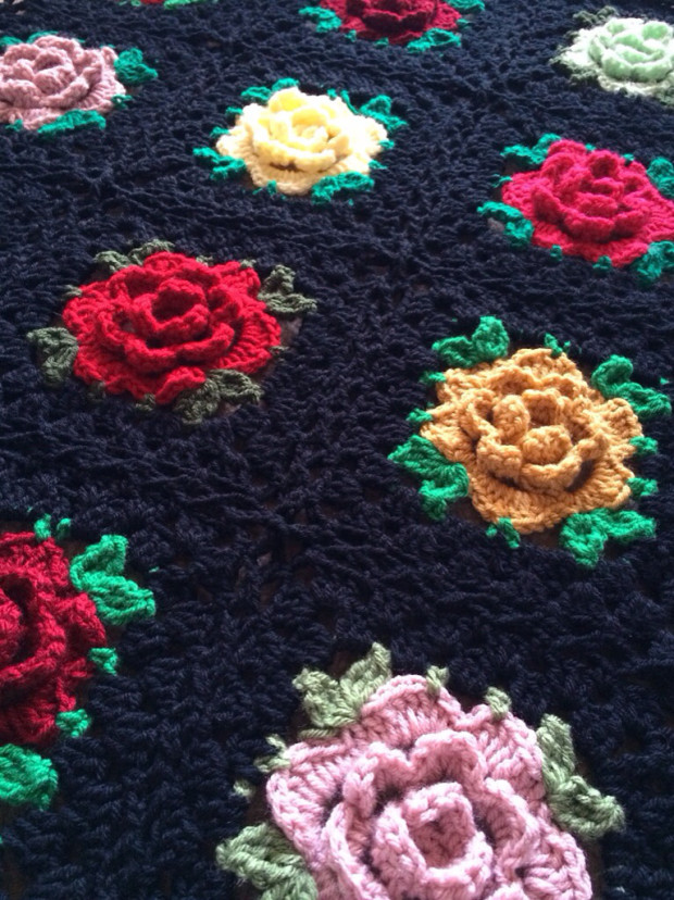 rose grany square