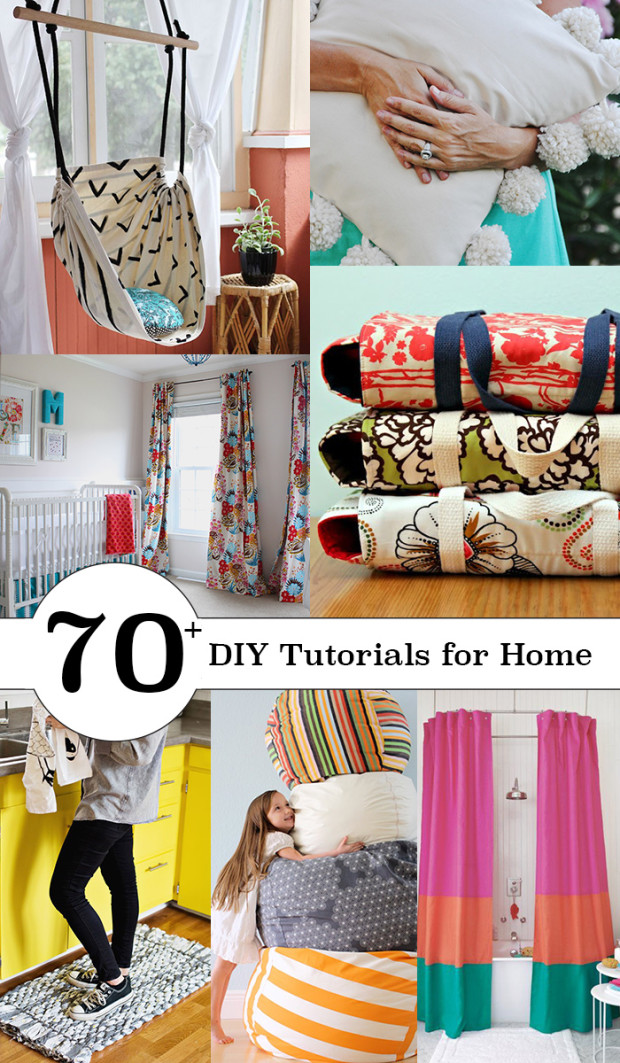 70+ Gorgeous Things to Sew for Your Home