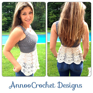 Ballerina Top Adult Size Free Crochet Pattern