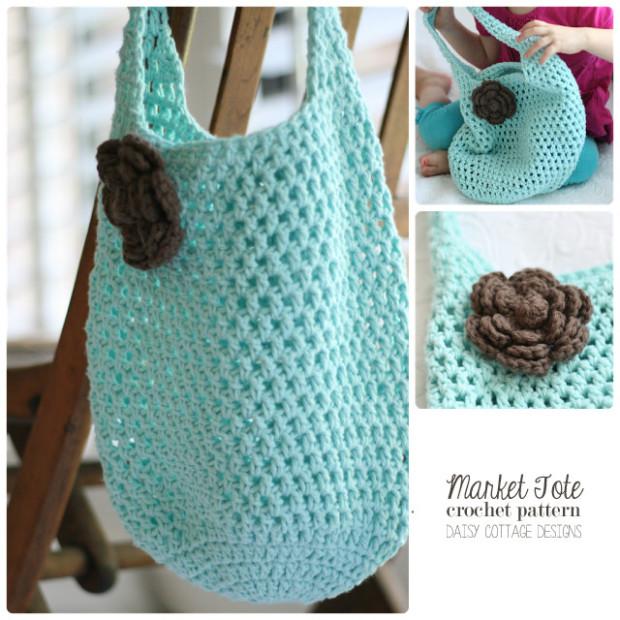 Market Tote Crochet Pattern