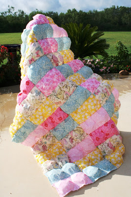 Puffy Quilt Tutorial