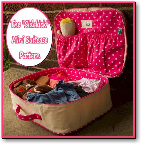 The Sidekick Mini Suitcase ePattern