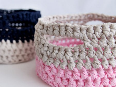 How to Make Crochet Basket