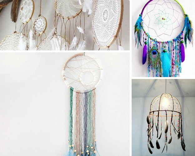 DIY Dreamcatcher Ideas Bedroom Project for Women