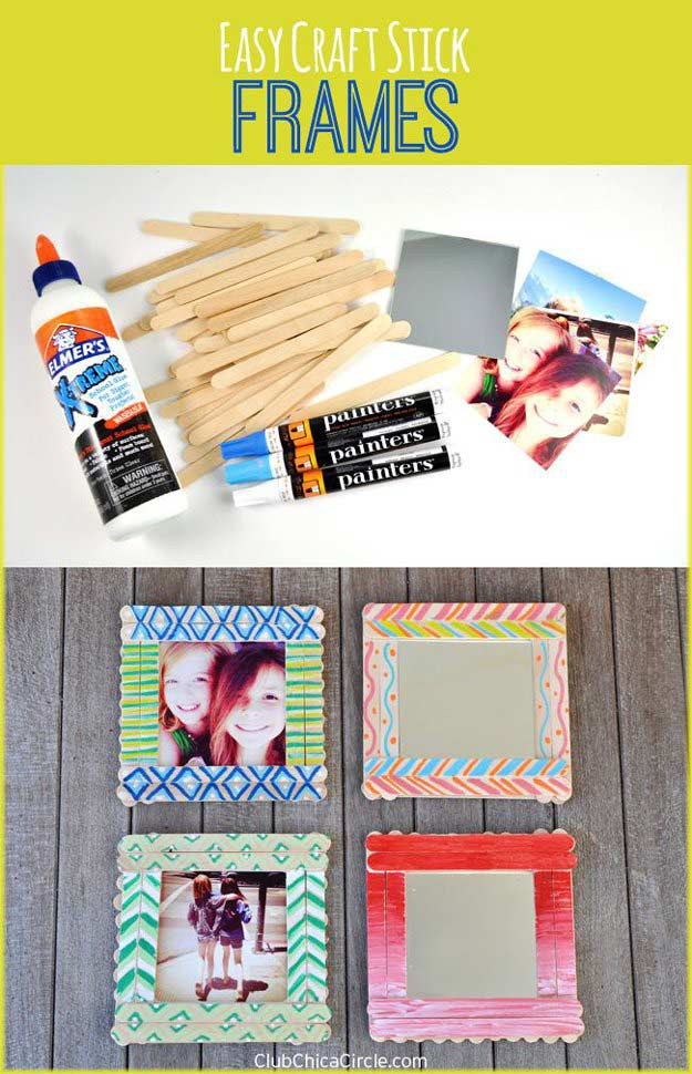 DIY Photo Frame | 17 Amazing DIY Paint Chip Projects