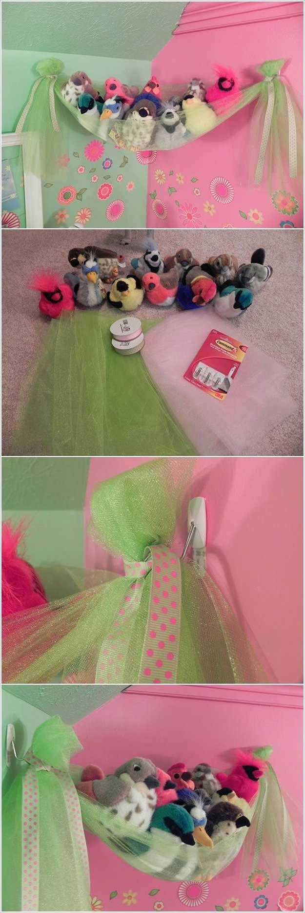 Fancy Bird's Nest   24 Smart DIY Toy & Crafts Storage Solutions