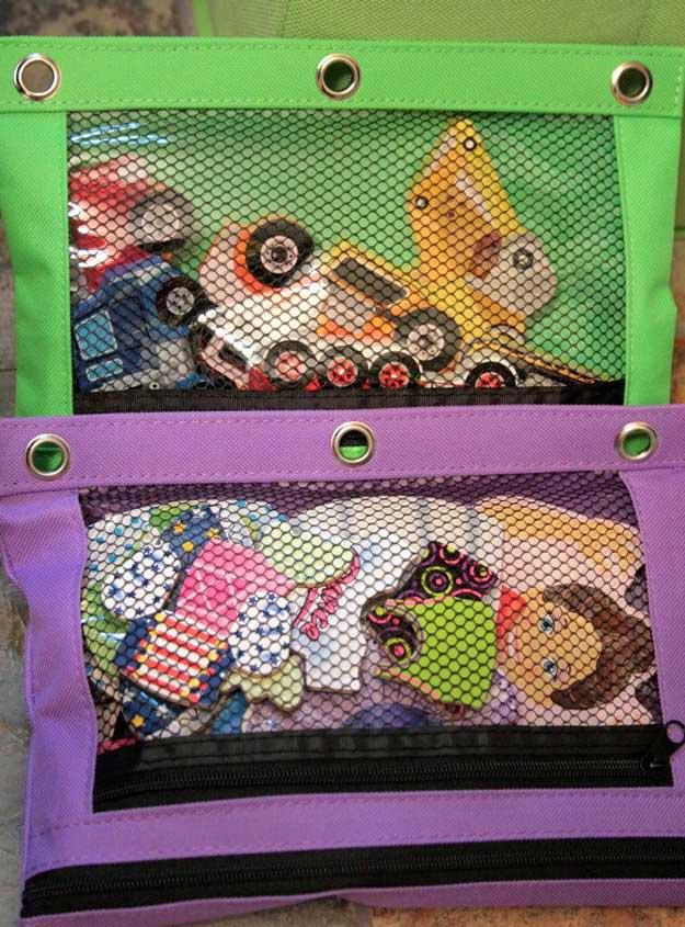 Puzzle Organization   24 Smart DIY Toy & Crafts Storage Solutions