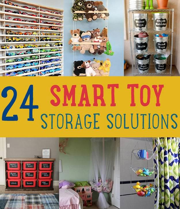 24 Smart DIY Toy & Crafts Storage Solutions