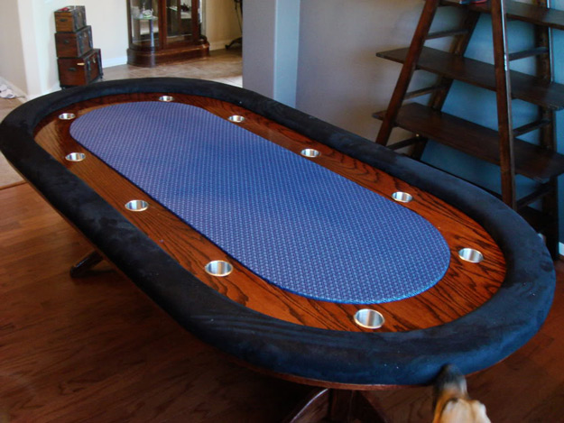 Poker Table DIY Projects for Game Room