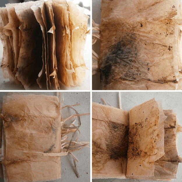 Little Book of Dried Teabags | 10 Uses for Used Teabags For Crafters Who Love Tea