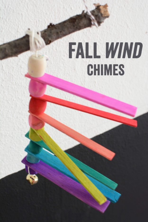 Balsa Wood Fall Wind Chimes Woodworking Projects