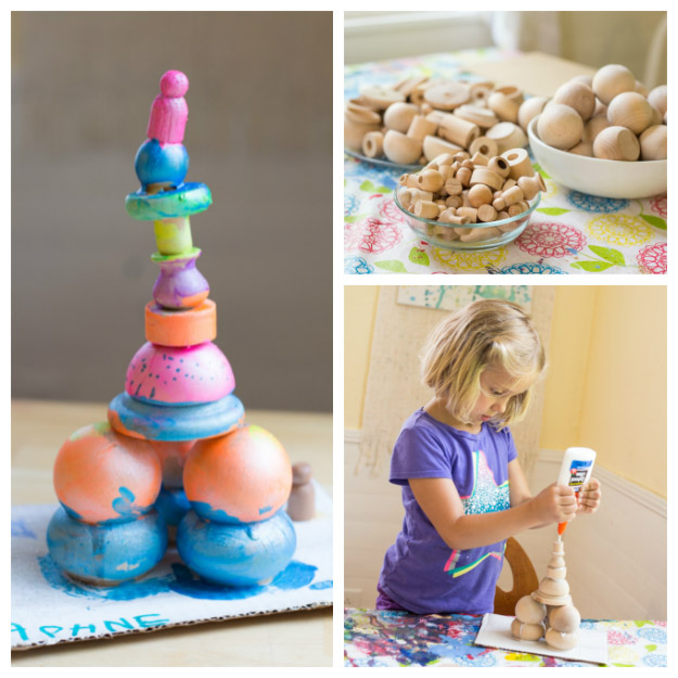 Easy Wood Sculptures for Kids