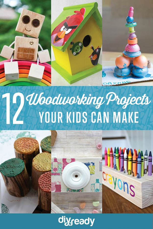 Woodworking projects for kids new craft works for Wood craft ideas for kids