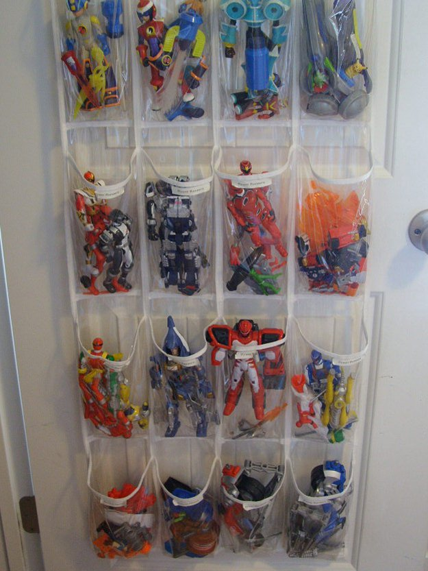 Shoe Toy Organizer | 24 Smart DIY Toy & Crafts Storage Solutions