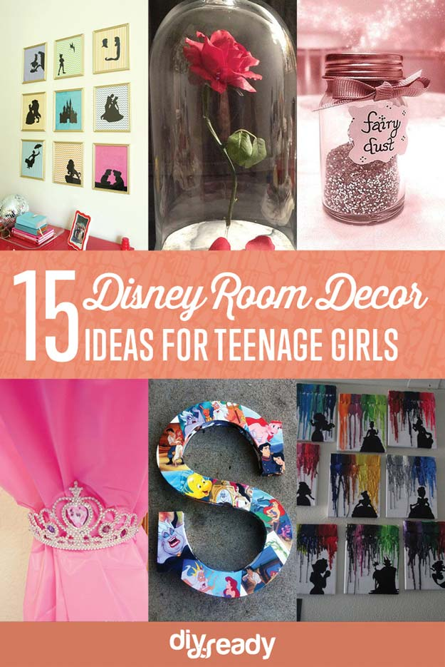 15 DIY Teen Girl Room Ideas