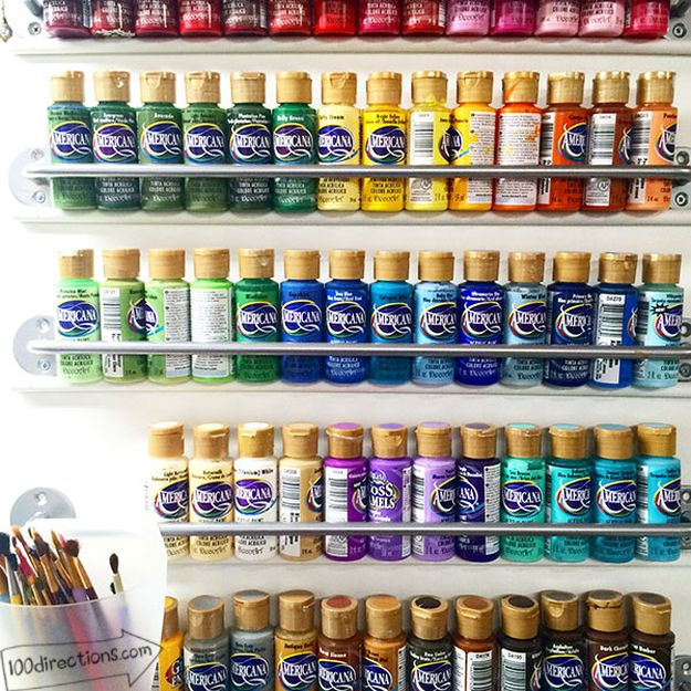 26 Craft Room Ideas Every Crafter Would Love New Craft Works