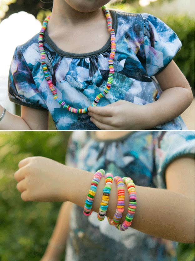 DIY Hama Perler Beads   22 Cheap DIY Jewelry Projects for Girls