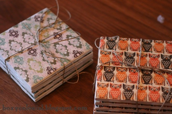 DIY Coasters | 18 Ingenious DIY Projects to Make in Under an Hour