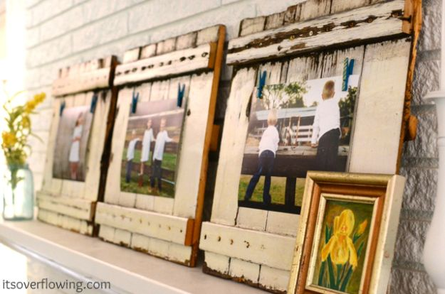 DIY Frame Tutorial | 13 DIY Country Home Projects