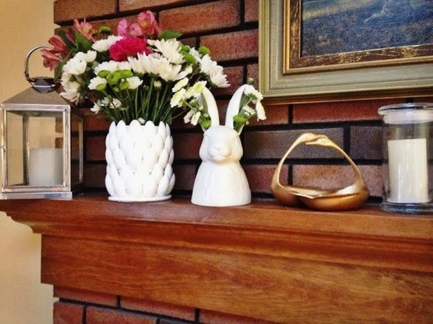 DIY Petal Vase From Plastic Spoons   15 Free Recycled Craft Ideas: Beautify Your Space Without Spending a Dime