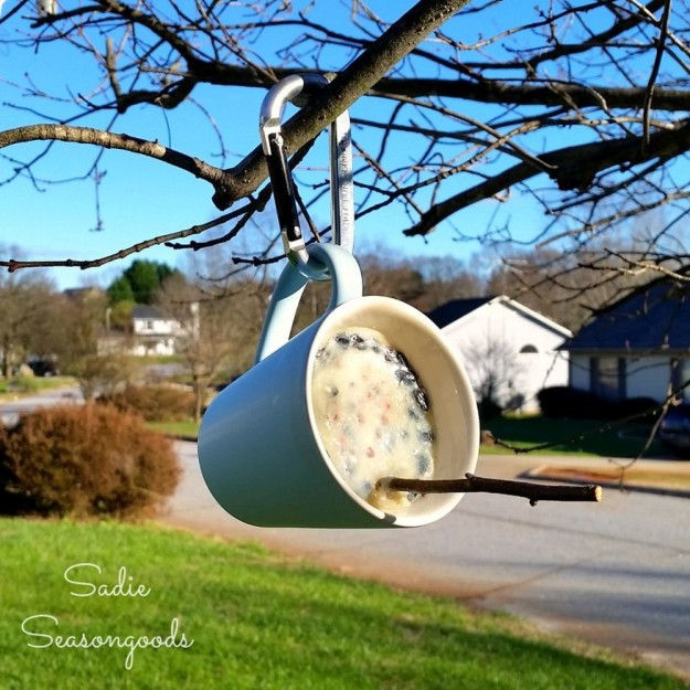 DIY Suet Feeder | 25 DIY Projects Your Pet Will Love