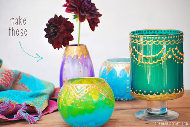Moroccan Candle Holders | 17 Amazingly Cheap Home Decor | DIY Crafts
