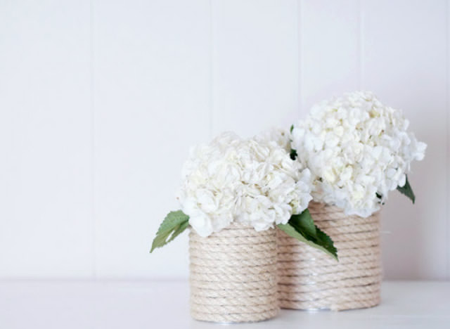 Rope Vase | 18 Ingenious DIY Projects to Make in Under an Hour