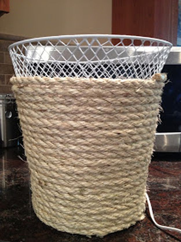 Trash Can Makeover | 13 DIY Country Home Projects