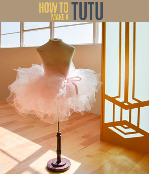 Tutu Skirt | 18 Ingenious DIY Projects to Make in Under an Hour