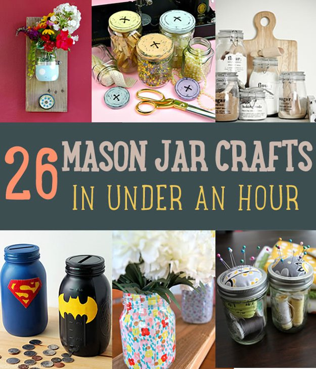 Upcycle Empty Mason Jars | 15 Free Recycled Craft Ideas: Beautify Your Space Without Spending a Dime