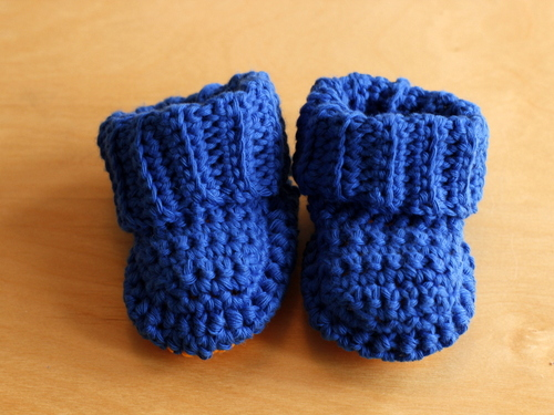 Crochet Baby Booties Pattern New Craft Works