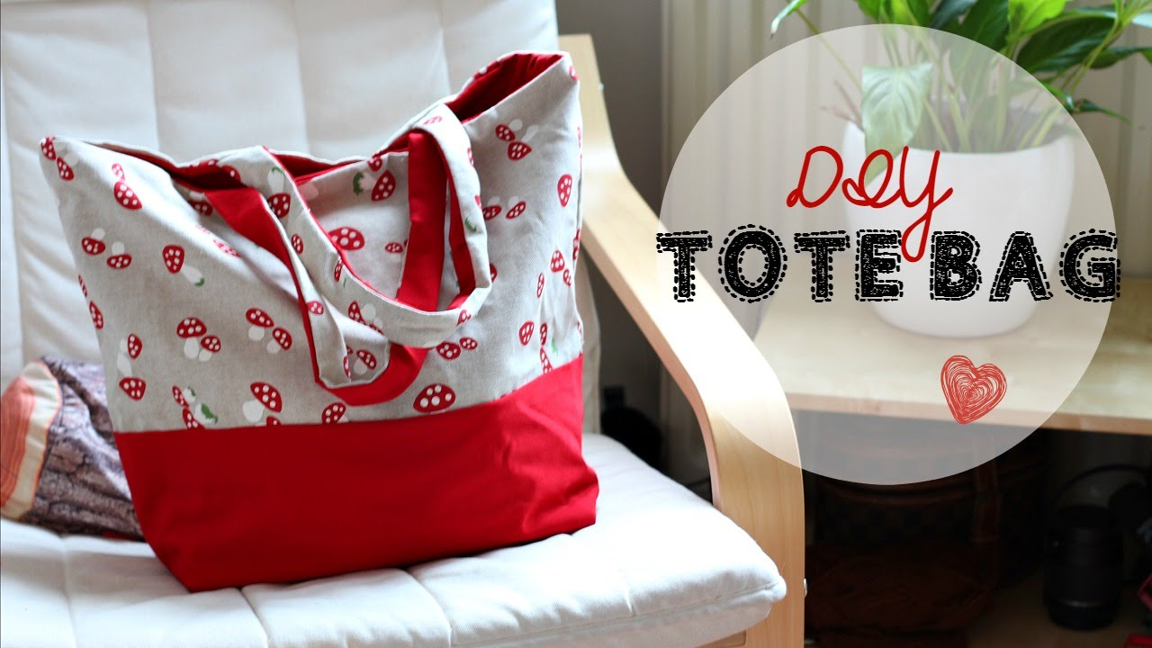 DIY Tote Bag Tutorial New Craft Works
