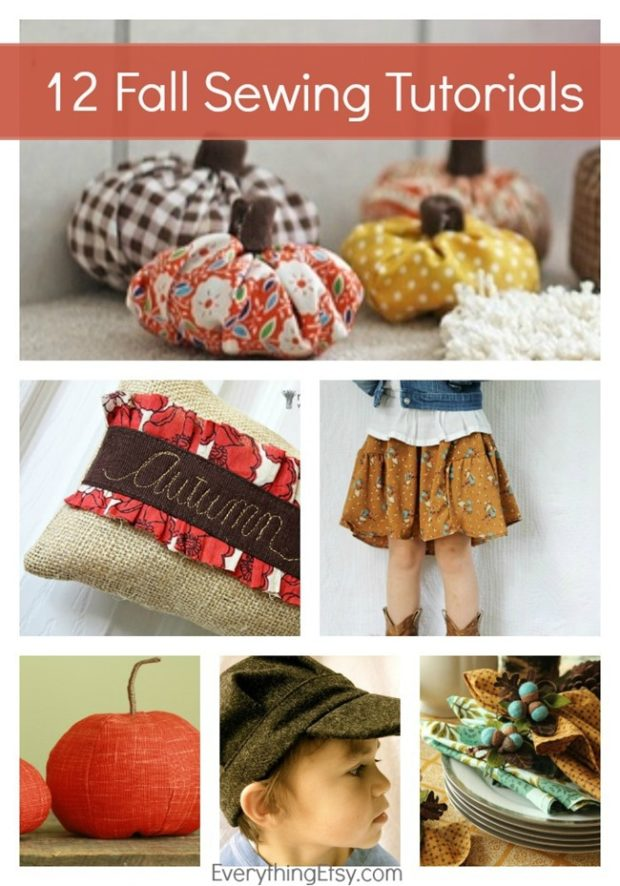 top 12 fall sewing tutorials http://www.newcraftworks.com