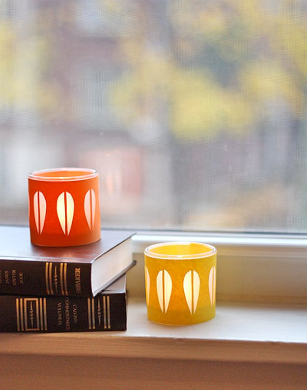 DIY Cathrineholm Candleholders | DIY Home Decorating Ideas For Mid Century Modern Lovers